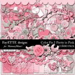 Color Fix 2 Pretty in Pink Combo Pack-$6.99 (Ettes and Company by Fayette)