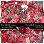 Color Fix 2 Cherry Tart Combo Pack-$6.99 (Ettes and Company by Fayette)