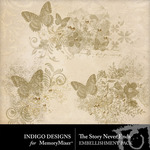 The Story Never Ends Accent Pack-$1.99 (Indigo Designs)