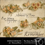 The Story Never Ends Cluster Pack-$1.00 (Indigo Designs)