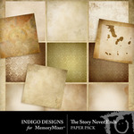 The Story Never Ends Paper Pack-$2.40 (Indigo Designs)