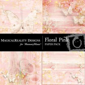 Floral pink pp medium