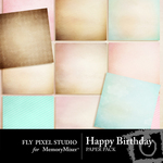 It's Your Birthday Paper Pack-$3.99 (Fly Pixel Studio)