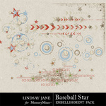 Baseball Star Scatterz Pack-$1.99 (Lindsay Jane)