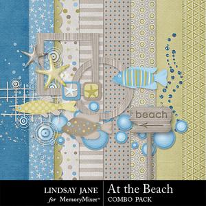 At the beach mini medium