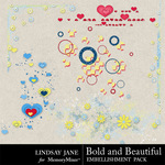 Bold and Beautiful Scatterz Pack-$1.99 (Lindsay Jane)