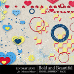 Bold and beautiful scatterz 2 small