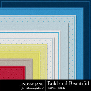 Bold and beautiful embossed pp medium