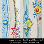 Bold and Beautiful Border Pack-$2.49 (Lindsay Jane)