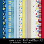 Bold and Beautiful Paper Pack-$3.99 (Lindsay Jane)