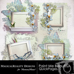 Paint Me Beautiful Cluster Pack-$1.00 (MagicalReality Designs)