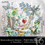 Paint Me Beautiful Embellishment Pack-$2.99 (MagicalReality Designs)