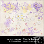 Shabby Romance Accent Pack-$1.99 (Indigo Designs)