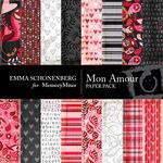 Mon Amour Paper Pack-$3.99 (Emma Schonenberg)