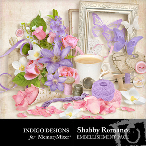 Shabby romance emb medium