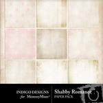 Shabby Romance Paper Pack-$3.99 (Indigo Designs)