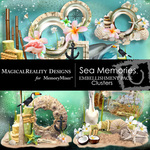 Sea Memories MR Cluster Pack-$1.00 (MagicalReality Designs)