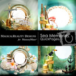 Sea Memories MR QUICK PAGE QuickMix 2-$3.49 (MagicalReality Designs)