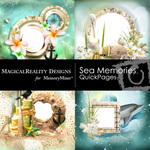 Sea Memories MR QUICK PAGE QuickMix 1-$3.49 (MagicalReality Designs)