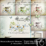 Paint Me Beautiful Add On Combo Pack-$3.99 (MagicalReality Designs)