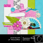 Summer Blast Mini Pack-$3.49 (Julie Klaus)