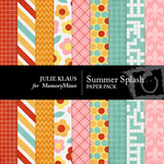 Summer Splash Paper Pack-$3.49 (Julie Klaus)
