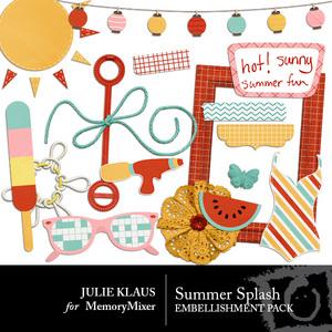 Summer splash emb medium