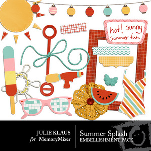 Summer splash emb medium