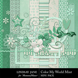 Color my world mint combo medium