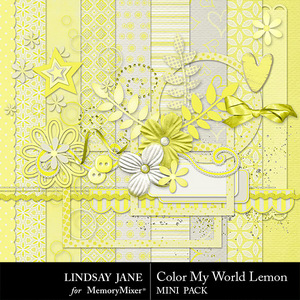 Color my world lemon combo medium