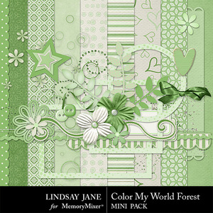 Color my world forest combo medium