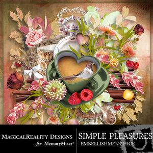 Simple pleasures emb medium