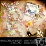 Simple Pleasures Cluster Pack 2-$1.99 (MagicalReality Designs)