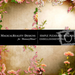 Simple Pleasures Border Pack-$1.99 (MagicalReality Designs)