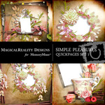 Simple Pleasures QUICK PAGE QuickMix 1-$3.49 (MagicalReality Designs)