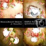 Simple Pleasures QUICK PAGE QuickMix 3-$1.75 (MagicalReality Designs)