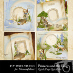 Princess and the Frog QUICK PAGE QuickMix-$3.49 (Fly Pixel Studio)