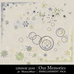 Our Memories Scatterz Pack-$1.99 (Lindsay Jane)