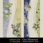 Our Memories Border Pack-$1.99 (Lindsay Jane)