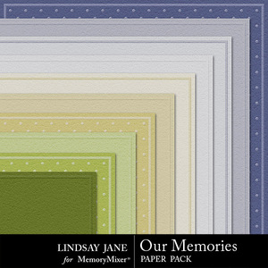 Our memories embossed pp medium