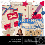 Freedom Embellishment Pack-$2.99 (Julie Klaus)