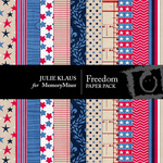 Freedom Paper Pack-$3.49 (Julie Klaus)