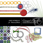Gingers Groove Embellishment Pack-$4.00 (Amy Sumrall)