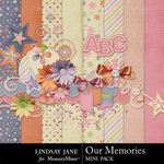 Our Memories Mini Pack-$3.99 (Lindsay Jane)
