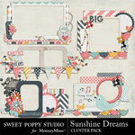Sunshine Dreams Cluster Pack-$1.99 (Sweet Poppy Studio)