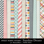 Sunshine Dreams Paper Pack-$3.99 (Sweet Poppy Studio)
