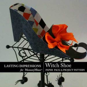 Witch shoe medium