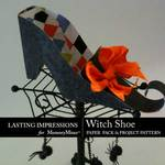 Witch Shoe Paper Pack and Project Pack-$2.49 (Lasting Impressions)