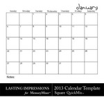 2013 calendar sq template small