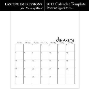 2013 calendar pt template medium
